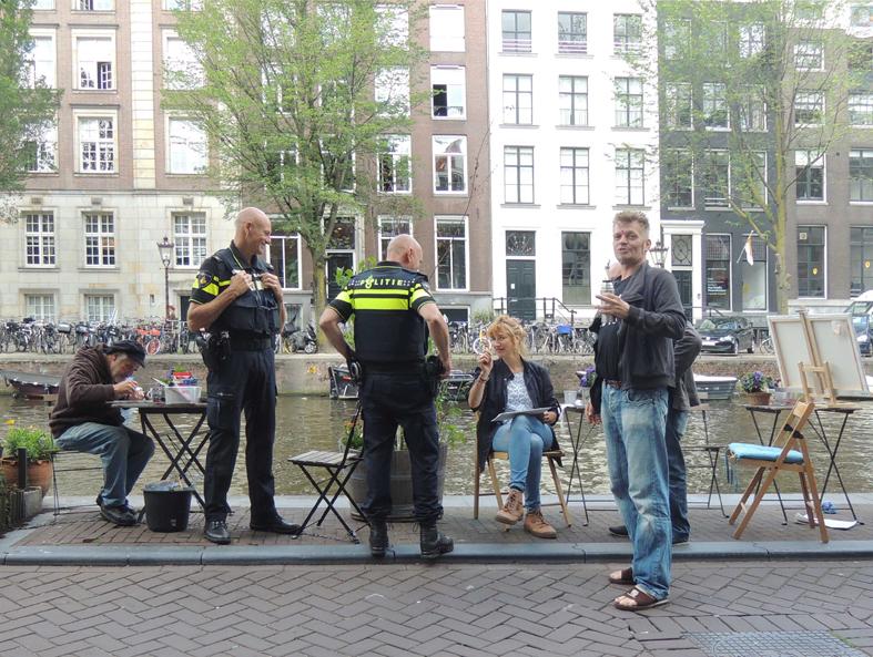 In gesprek met de politie